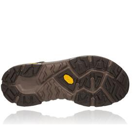 Hoka One One Sky Toa Chaussures de randonnée Homme, black olive/orange